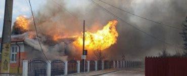 Alertă în Vaslui! O școală a fost cuprinsă de un incendiu violent. Șase elevi se aflau în clădire