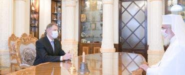 Klaus Iohannis, discuție cu Patriarhul Daniel despre campania de vaccinare! La ce consens au ajuns aceștia