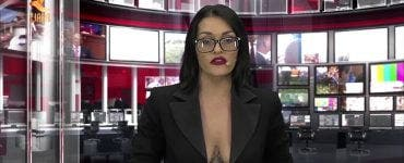 Ce a făcut o tânără ÎN DIRECT pentru a-și păstra postul de prezentatoare TV! Telespectatorii au fost șocați. VIDEO