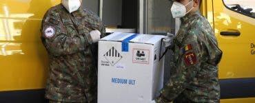 O nouă tranșă de vaccin Pfizer a ajuns sâmbătă în România! Cum vor fi repartizate dozele