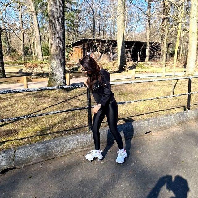 În parc