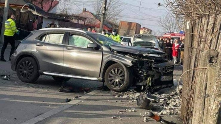 Accident cartier Andronache