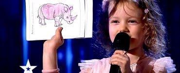 Cine este fetița de patru ani care i-a hipnotizat pe jurații de la _Românii au talent_