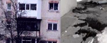 Crima de la Onești. Primele imagini din apartamentul în care cei doi muncitori au fost uciși
