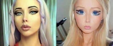 Femeia care seamănă perfect cu păpușa Barbie