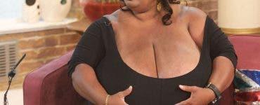 Femeia cu cei mai mari sani din lume