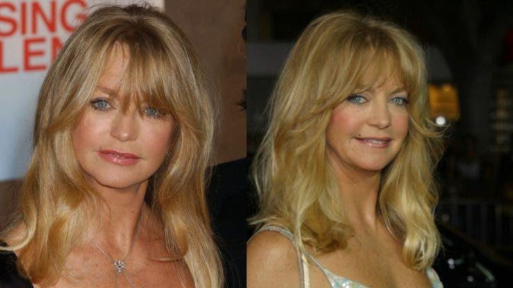 Goldie Hawn, de nerecunoscut!