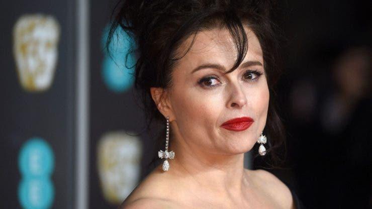 Helena Bonham Carter a ajuns de nerecunoscut!