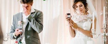 Mireasa a aflat cu câteva ore înainte să se mărite că este înșelată de viitorul soț