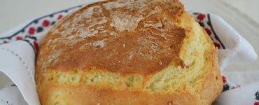Pâine folosind bicarbonat de sodiu
