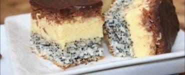 Rețetă ușoară de prăjitură Tosca.