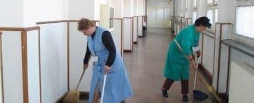 Salariu femeie de serviciu