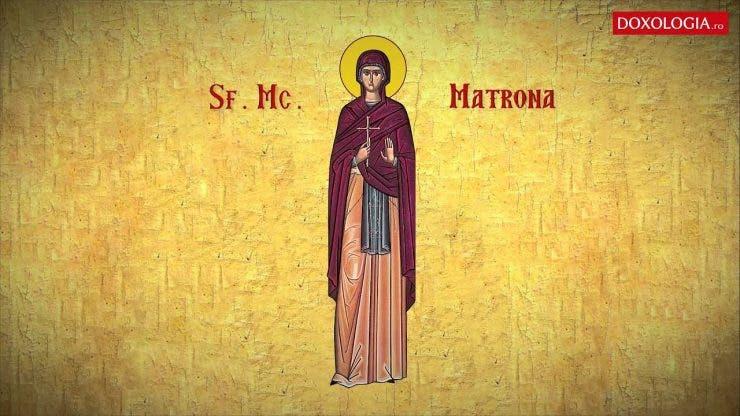Sfânta Muceniță Matroana