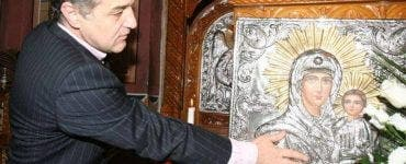 gigi becali, gigi becali se retrage la mânăstire