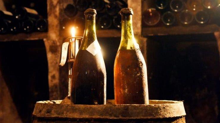cea mai veche sticlă de vin din lume
