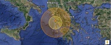 Cutremur puternic în Grecia! Ce magnitudine a avut seismul