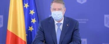 Klaus Iohannis, mesaj de 8 martie