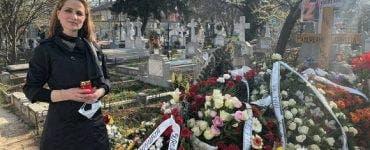 """Nicoleta Voicu a vizitat-o pe Cornelia Catanga la mormânt! """"Nu are cum să nu te miște sufletește"""""""