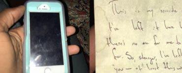 Un bărbat a găsit pe jos un telefon cu un bilet pe spate! Când a citit a înghețat de frică