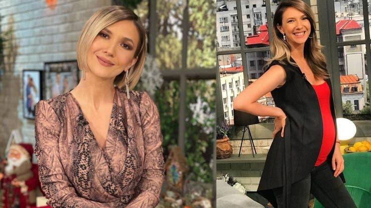 Adela Popescu vrea să nască natural.