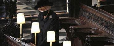 Ce a purtat în geantă Regina Elisabeta a II-a la înmormântarea prințului Philip