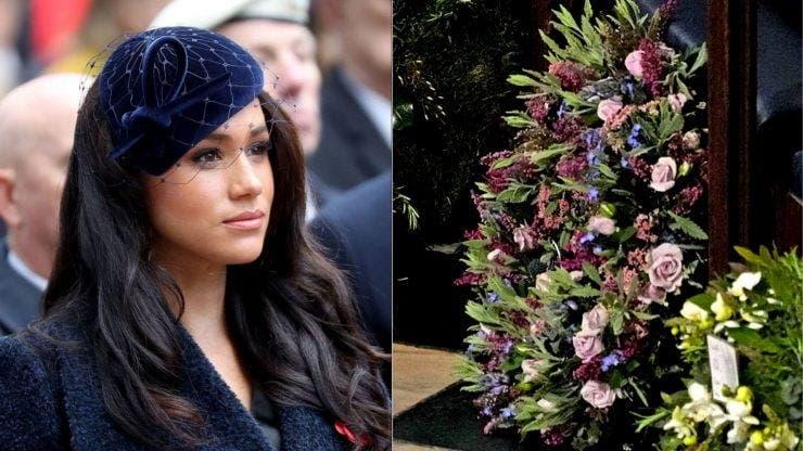 Ce reprezintă florile trimise de Meghan Markle la ceremonia de înmormântare a prințului Philip