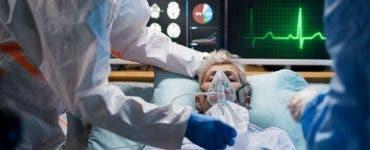 Cum arată salonul unde oamenii infectați cu COVID19 se luptă pentru viața lor