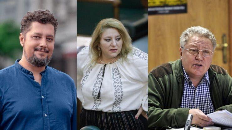 Diana Șoșoacă, Claudiu Târziu și Ion Rădoi au participat la proteste și au luat amendă