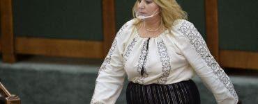 Diana Șoșoacă a depus plângere împotriva președintelui Comisiei juridice din Senat, Iulia Scântei