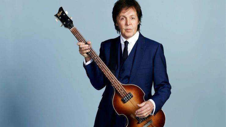Paul McCartney, de nerecunoscut!