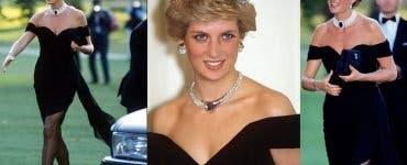 Povestea rochiei pe care Prințesa Diana a purtat-o în 1994