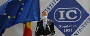 Președintele Iohannis îi îndeamnă pe români să aibă încredere în vaccin