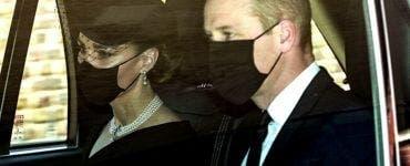 Primele fotografii de la înmormântarea Prințului Philip