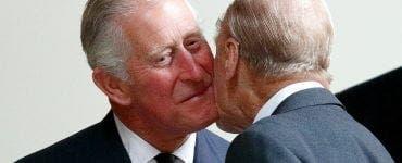 """Prințul Charles, mesaj emoționant după moartea Prințului Philip: """"Dragul meu tată"""""""