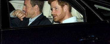 Prințul Harry a sosit în Marea Britanie pentru a fi alături de familia Regală (1)