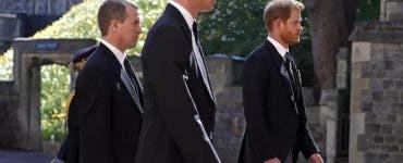 Prinții William și Harry, discuție după înmormântarea bunicului lor! Ce și-au spus aceștia