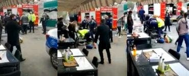 _Un bărbat a murit după ce a fost imobilizat de polițiști