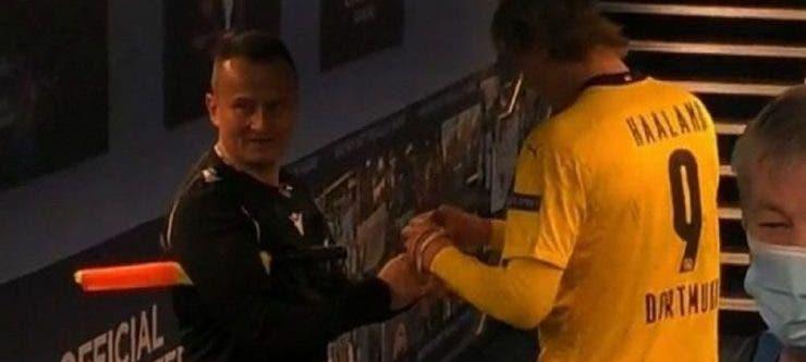 Octavian Șovre, Octavian Șovre autograf, Erling Haaland, Leo Messi,