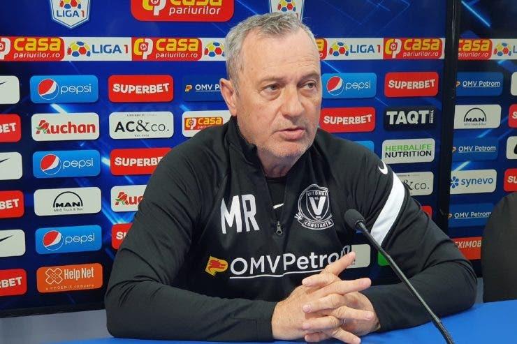 mircea rednic, mircea rednic demitere, Gică Hagi, FC Viitorul,