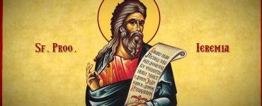 Calendar ortodox 1 mai 2021. Sfântul Prooroc Ieremia