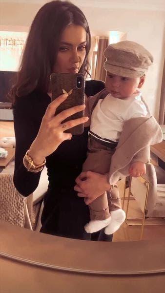 Imagini rare cu copilul Cristinei Ich și al lui Alex Pițurcă! Cum arată copilul de 1 an și jumătate al influenceriței