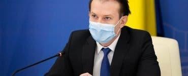 Florin Cîțu: Ne gândim să renunțăm la mască după ținta de 10 milioane de persoane vaccinate
