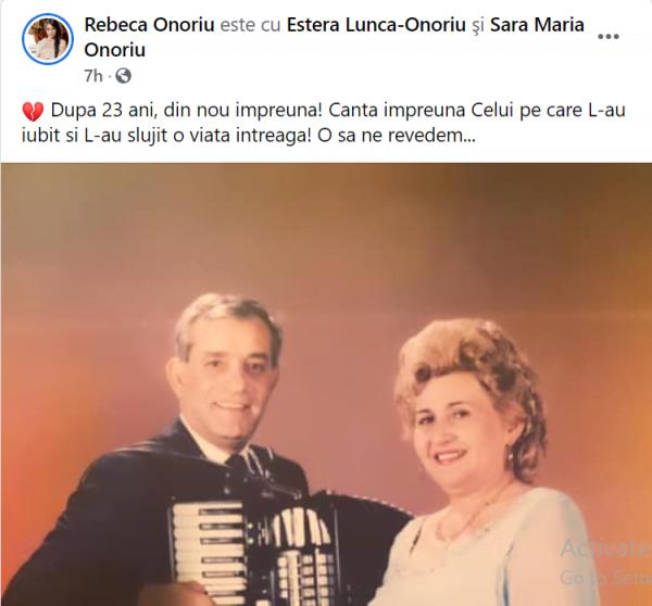 Gabi Luncă a murit