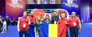 Monica Csengeri, Campionat European, haltere