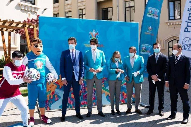 Euro 2020, Trofeu EURO 2020, București