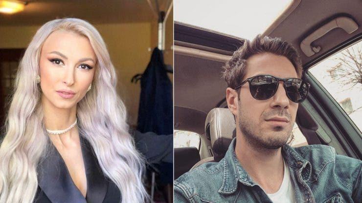Andreea Bălan și Tiberiu Argint au împlinit un an de relație.