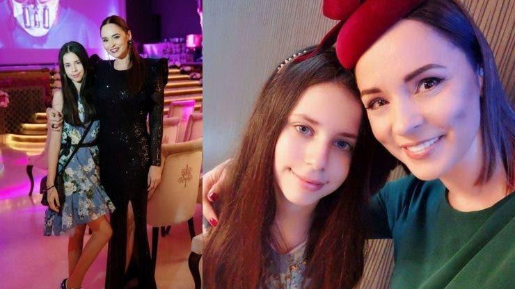Cum arată acum fiica Andreei Marin