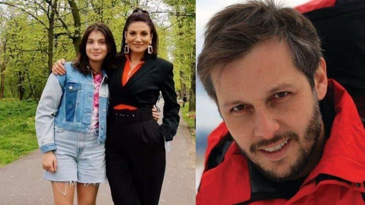 Cum se înțelege fiica Ioanei Ginghină cu Cristi Pitulice, iubitul mamei sale