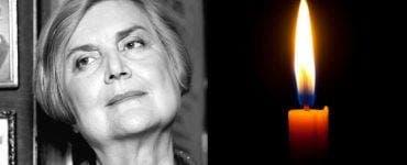 Ileana Vulpescu s-a stins din viață