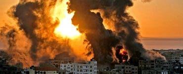 Noi atacuri aeriene asupra orașului Gaza